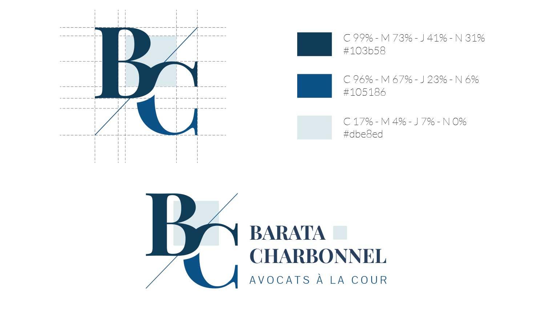 Création du logo Barata Charbonnel