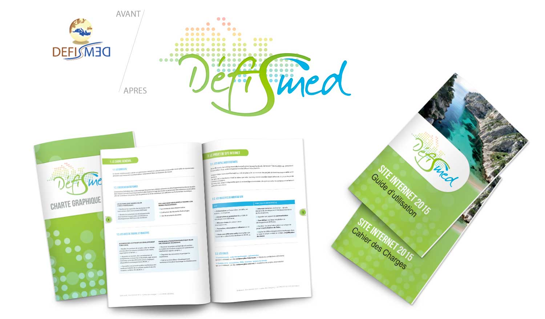 Création du logo 2015 de l'association Defismed