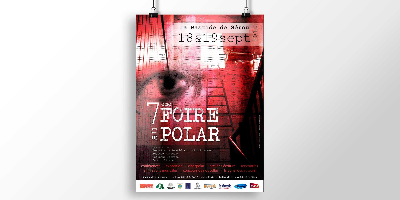 Affiches Foire au Polar