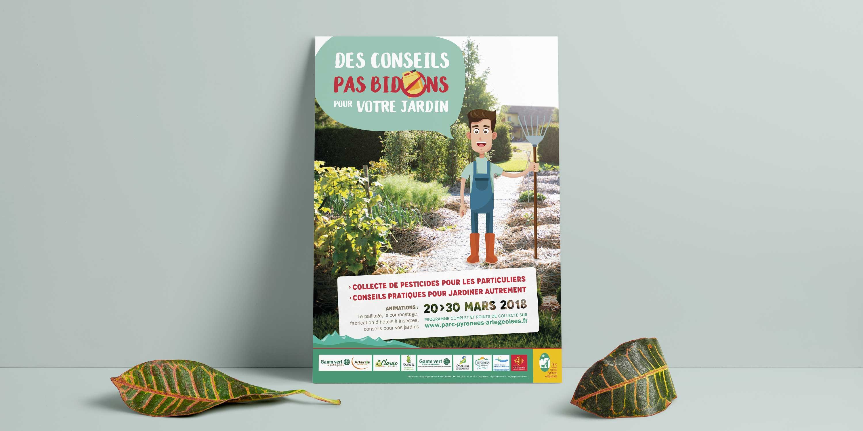 Affiche «Zéro pesticide» PNR