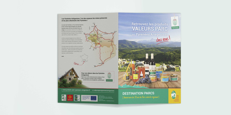 Dépliant «Valeurs Parc» pour les 50 ans des PNR