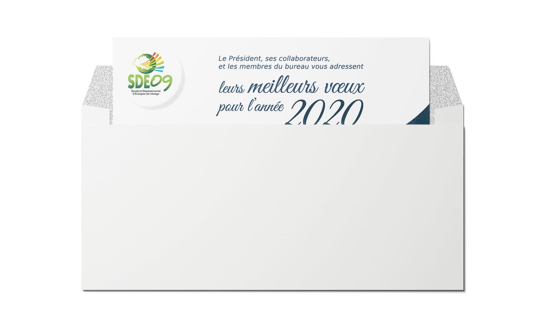 Carte de voeux SDE09 2020
